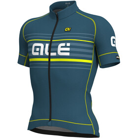 Alé Cycling Graphics PRR Salita Short Sleeve Jersey Men lagoon-flou yellow